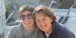 Boryana Dzhambazova and Belinda Hawkins