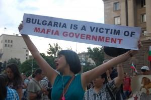 Protesting in Sofia 2013 Photographer: Boryana Dzhambazova